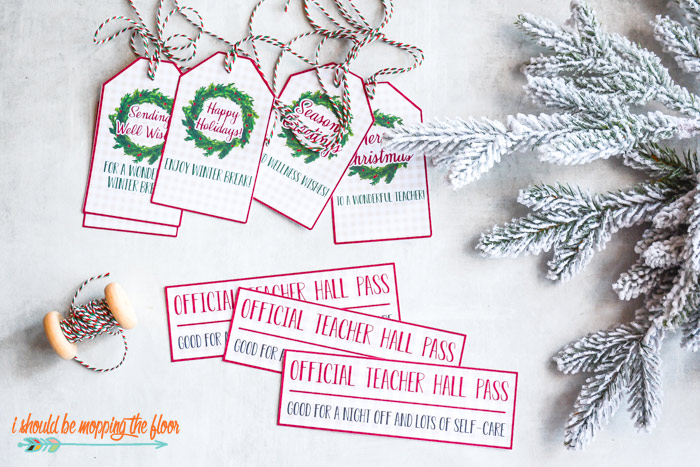 Teacher Christmas Printables