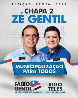 Famem: Com apoio declarado de 117 prefeitos, Fábio Gentil pode chegar a 125 adesões