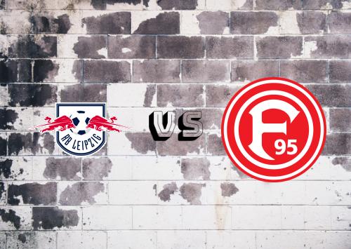 RB Leipzig vs Fortuna Düsseldorf  Resumen