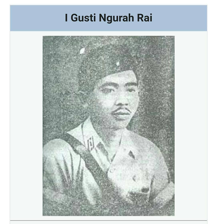 Gambar Pahlawan I Gusti Ngurah Rai