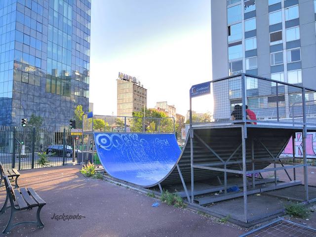 rampe skatepark clichy paris