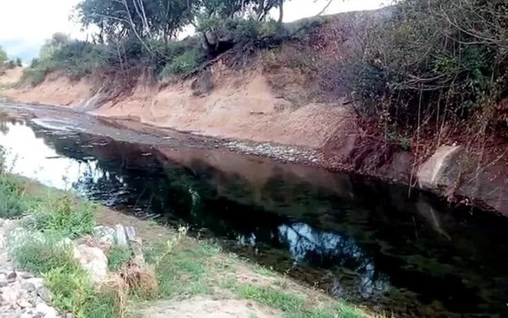 985% πάνω από το όριο ο μόλυβδος στο ποτάμι της Ολυμπιάδας από τα απόβλητα της Ελληνικός Χρυσός
