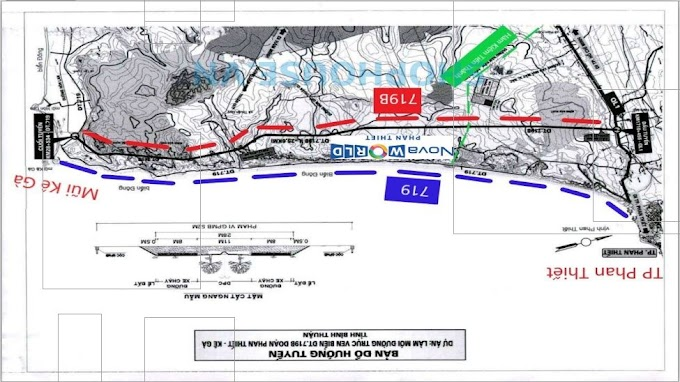 Quy hoạch đường kết nối và các tiện ích đẳng cấp tại Nova World Phan Thiết
