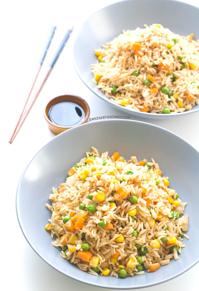 Vegan Chinese Rice | danceofstoves.com