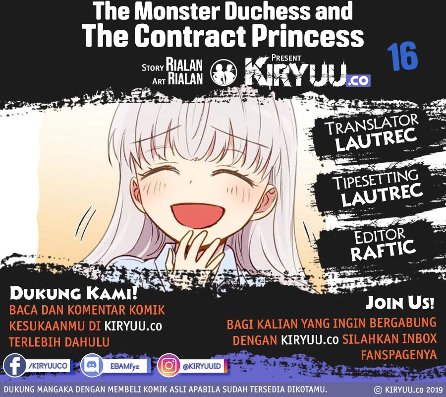 The Monster Duchess and Contract Princess Chapter 16-25