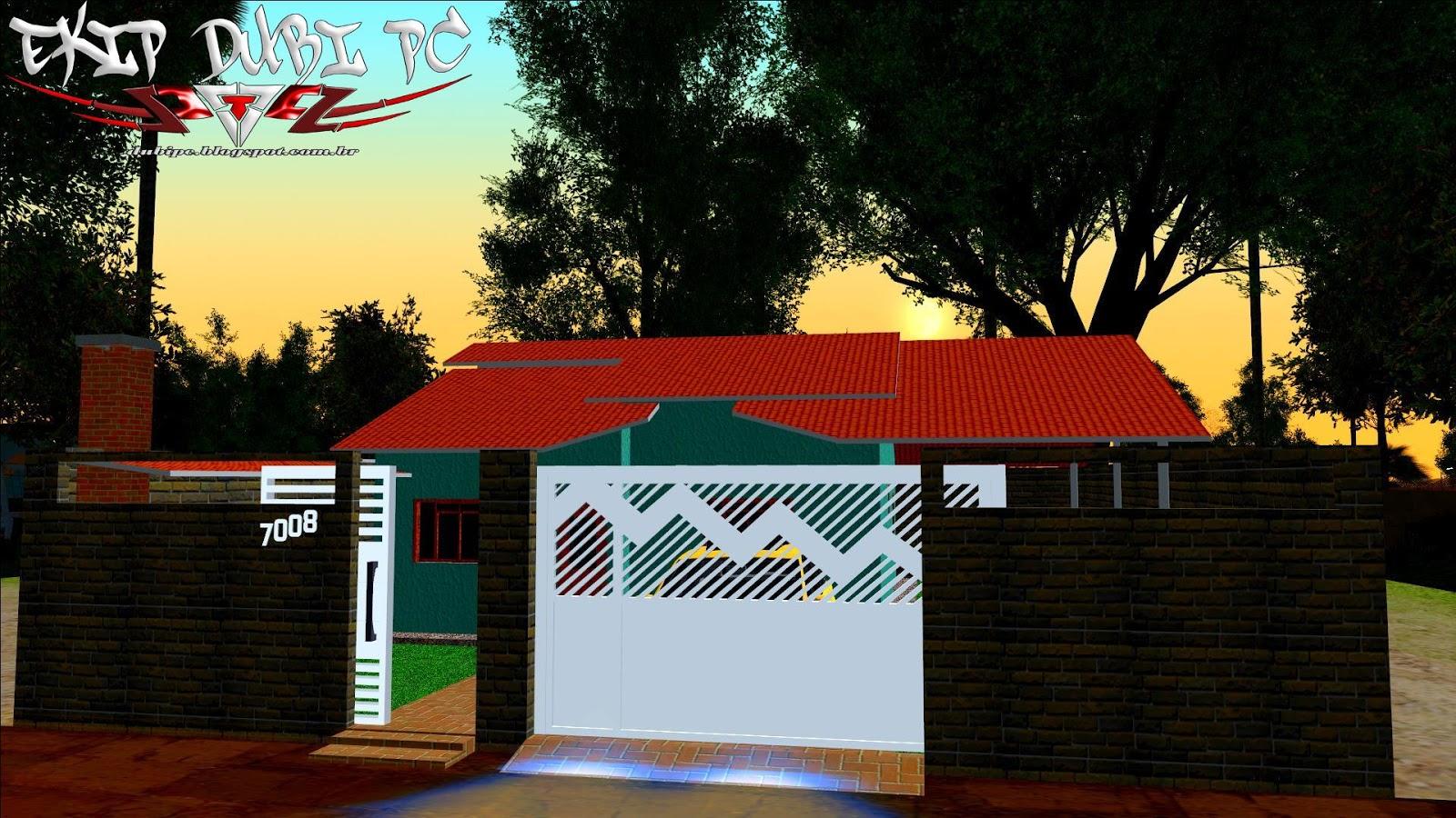 Mod casa para gta san casas simples com garagem for Casa moderna gta sa