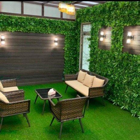 شركة تنسيق حدائق تصميم جلسات سطح المنزل في مدينة جدة بمكة المكرمة