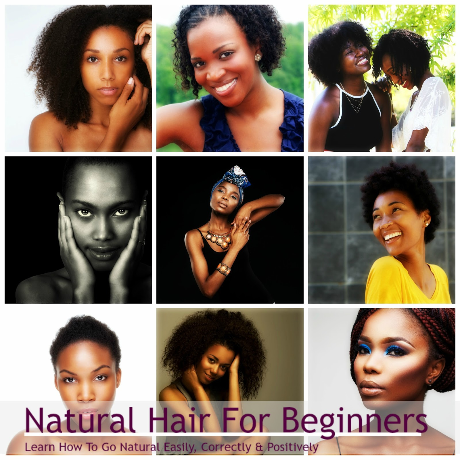 Natural Hair For Beginners: Start Here