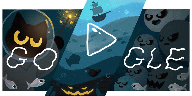 Il Doodle di Google per Halloween nasconde un gioco spaventoso