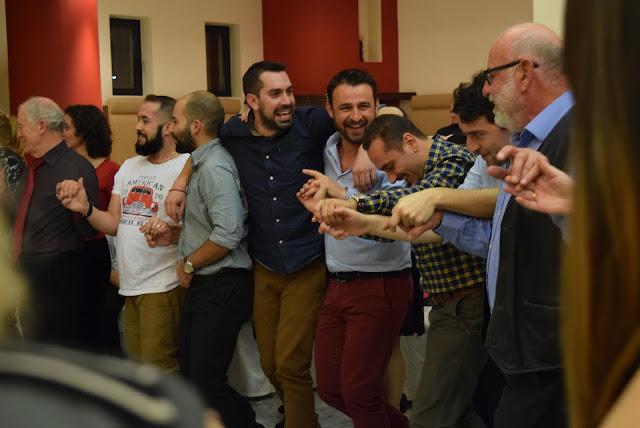Το γλέντησαν για τα καλά τα μέλη του Εργαστηρίου Ελληνικού Χορού Ναυπλίου