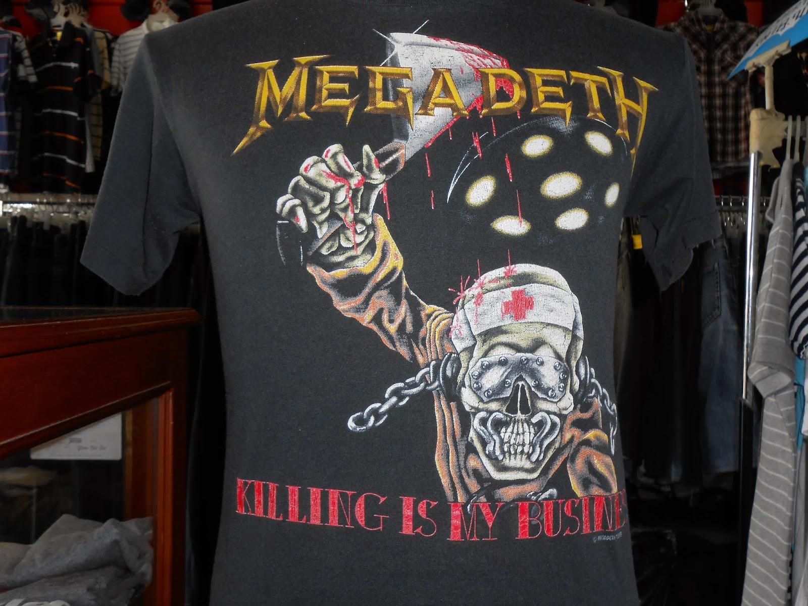 Trend Bundle November 2013 Tendencies Tshirt Ultra Brother Hitam S Vtg Megadeth Killing Is My Business 88 Band 50 Tshirtsold