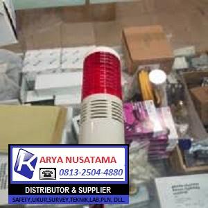 Jual Lampu Menara 1 susun Plus Buzzer 220v di Jepara