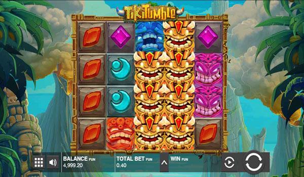 Main Gratis Slot Indonesia - Tiki Tumble Push Gaming