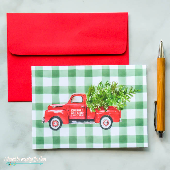 Christmas Tree Farm Card
