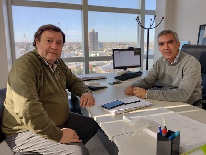 Encuentro del Senador Weretilneck y el Presidente del bloque JSRN, Facundo López
