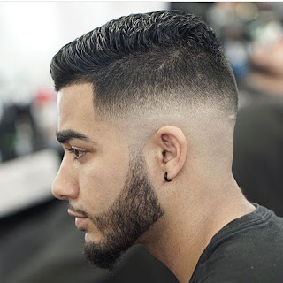 low fade men hairstyle