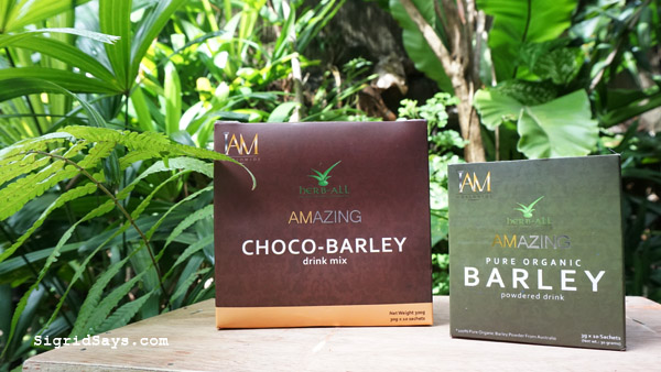 IAM Amazing Pure Organic Barley and Choco-Barley drink - health benefits of barley - IAM Barley
