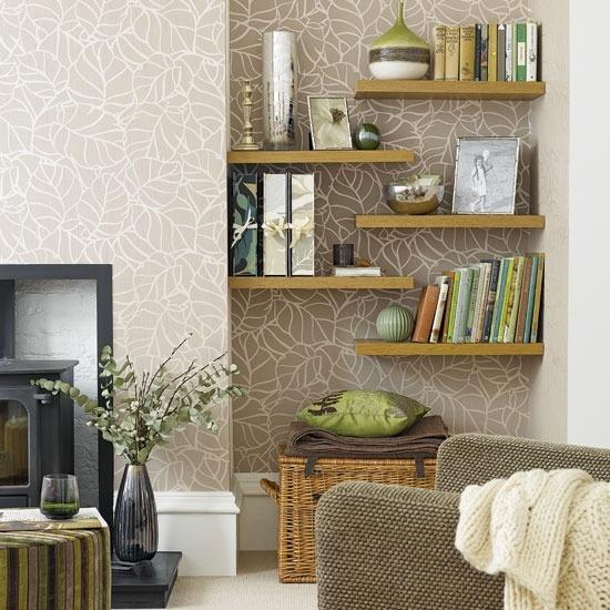 Wall Shelf Ideas: Simple Details: Ikea Lack Floating Shelf