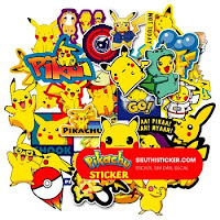 sticker pikachu pokemon