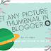 Set any thumbnail for the blogger blog post