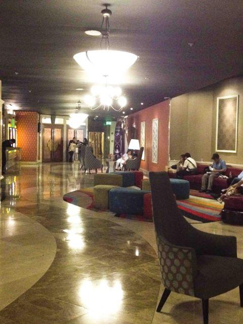 Newport Cinema lounge