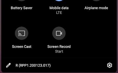 Android 11 screen recorder