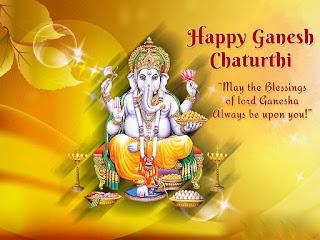 happy ganesh chaturthi marathi greeting wishies