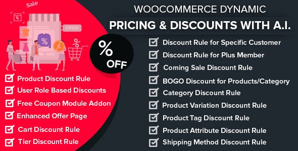 WooCommerce Dynamic Pricing / Discounts with AI v1.6.3