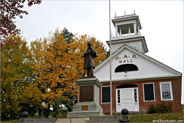 G.A.R. Hall en Peterborough, New Hampshire
