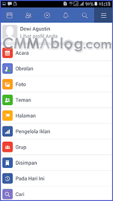 buat akun facebook baru lewat hp Android