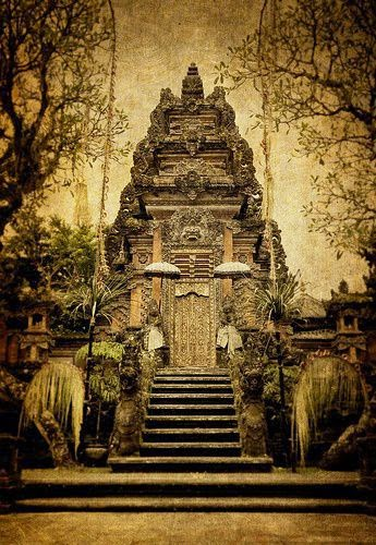 10 Places You Shouldn't Miss in Indonesia | The Hindu temple, Pura Taman Kemuda Saraswati, in Ubud, Indonesia.