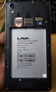 lava 810 flash file S103