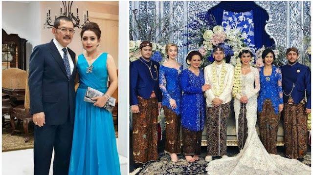 Nyesek! Anak Bungsu Bambang Trihatmodjo Menikah Tanpa Ayah, Postingan Mayangsari Ungkap Keberadaan Suaminya