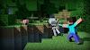 Minecraft - Mojang Squelette Steve - Ultra HD 4K 2160p