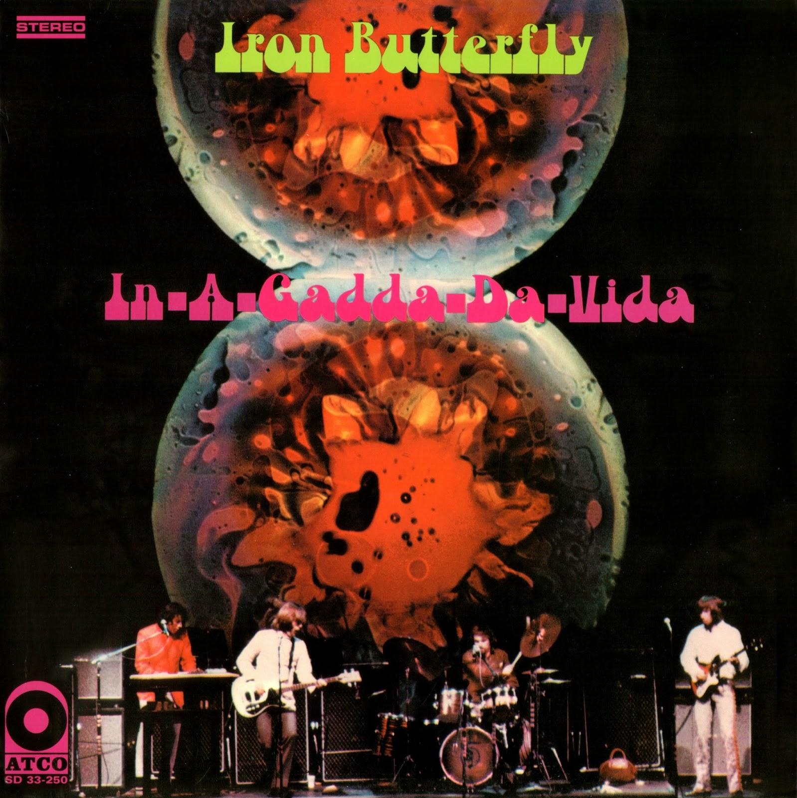 Las Galletas De Maria Iron Butterfly In A Gadda Da Vida