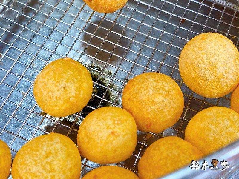 鶯歌南雅路QQ蛋地瓜球素食外酥內軟Q鶯歌在地人激推美食