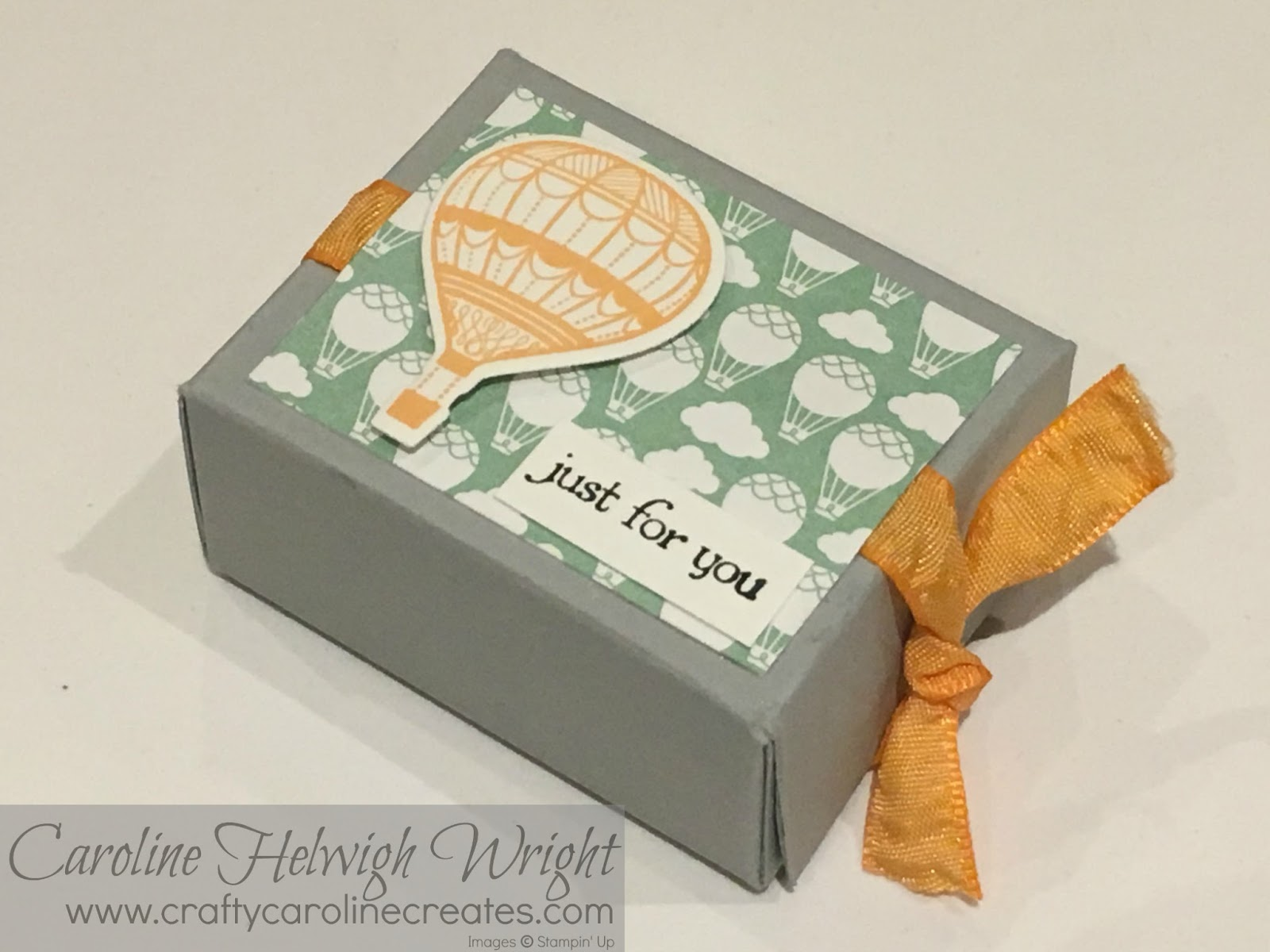 Craftycarolinecreates sweet little gift box using lift me up by sweet little gift box using lift me up by stampin up new products negle Gallery