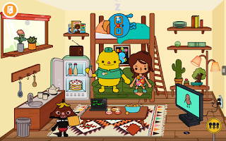 toca town game for android
