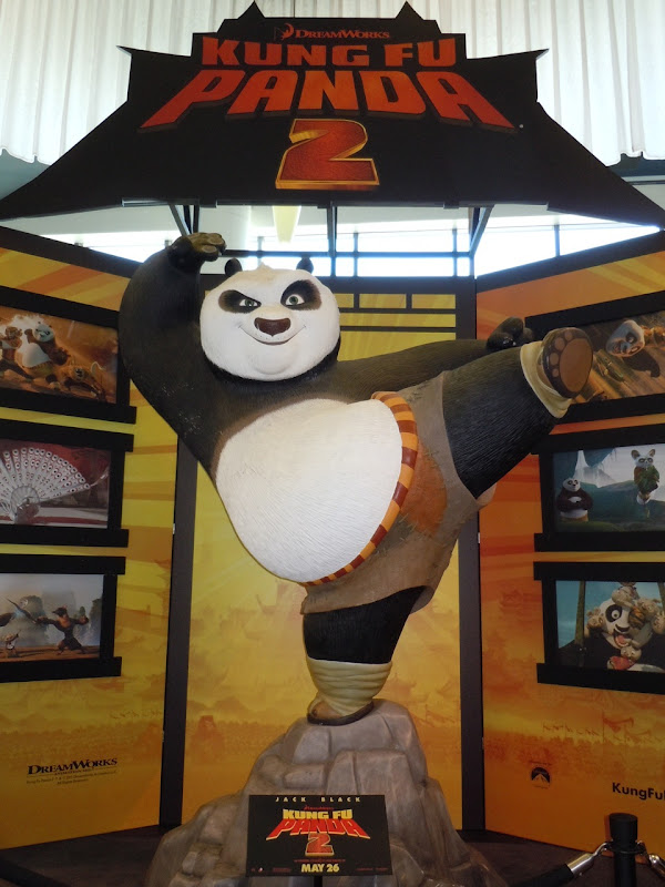 Kung Fu Panda 2 display ArcLight Sherman Oaks