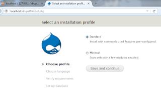 proses instalasi drupal 1