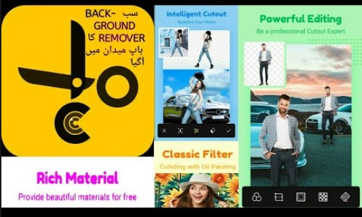 Cut Cut – Cutout & Photo Background Editor Free Download on Android App