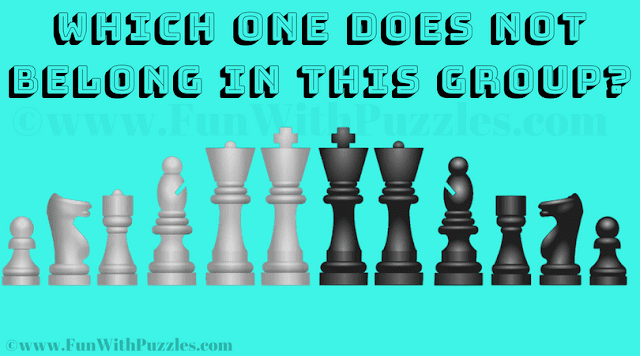 In this Visual Brain Teaser, your challenge is to find the mistake in this given Chess Picture Image