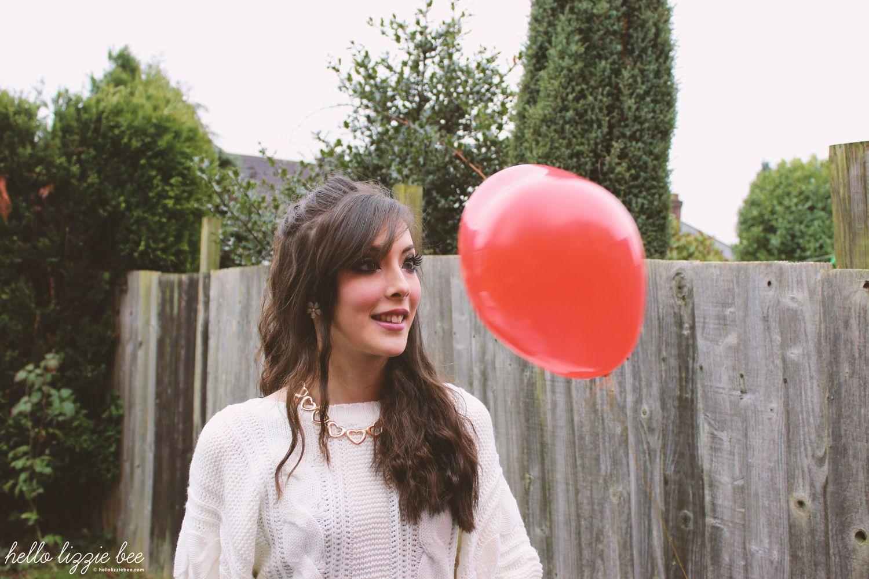heart balloon, funny
