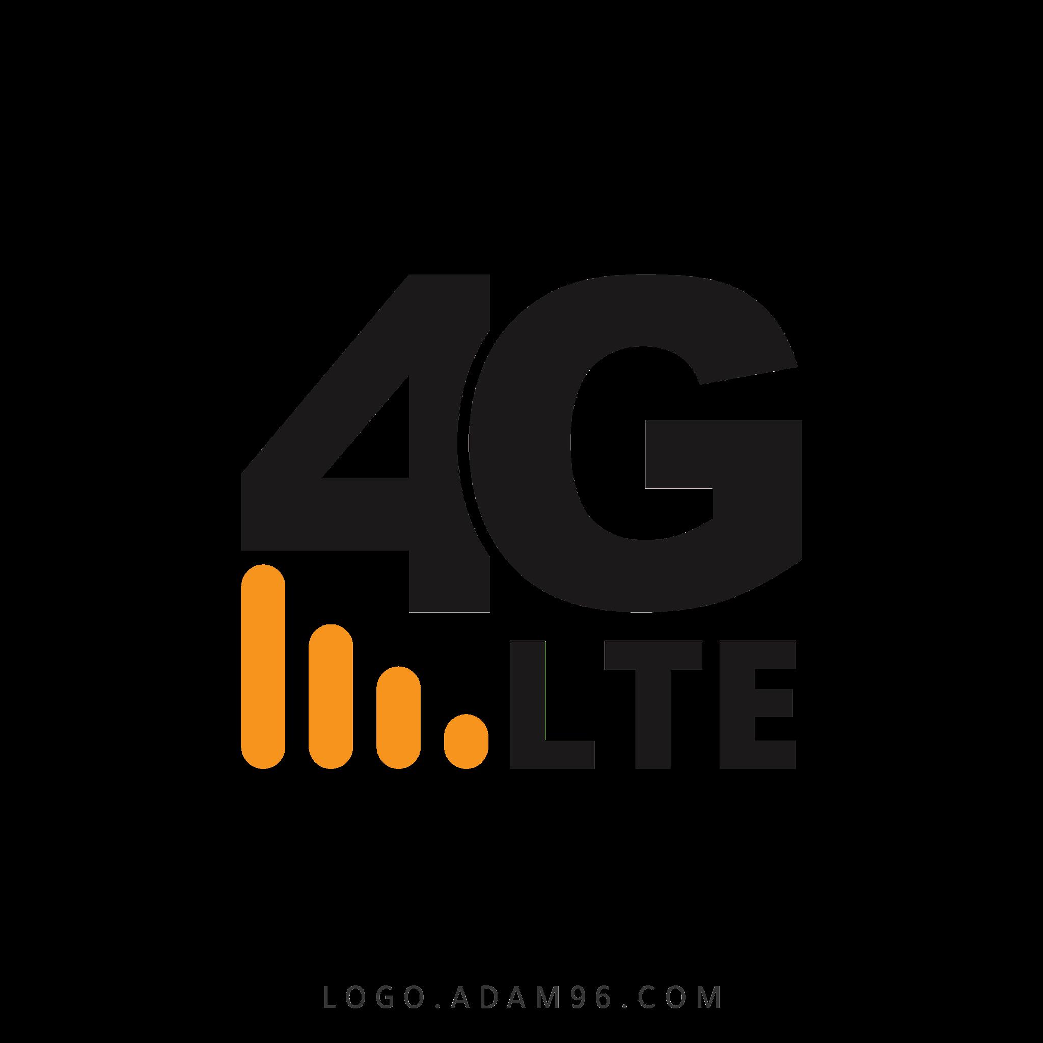 تحميل شعار فور جي لايت LOGO 4G LTE PNG