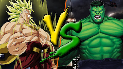 Broly vs Hulk
