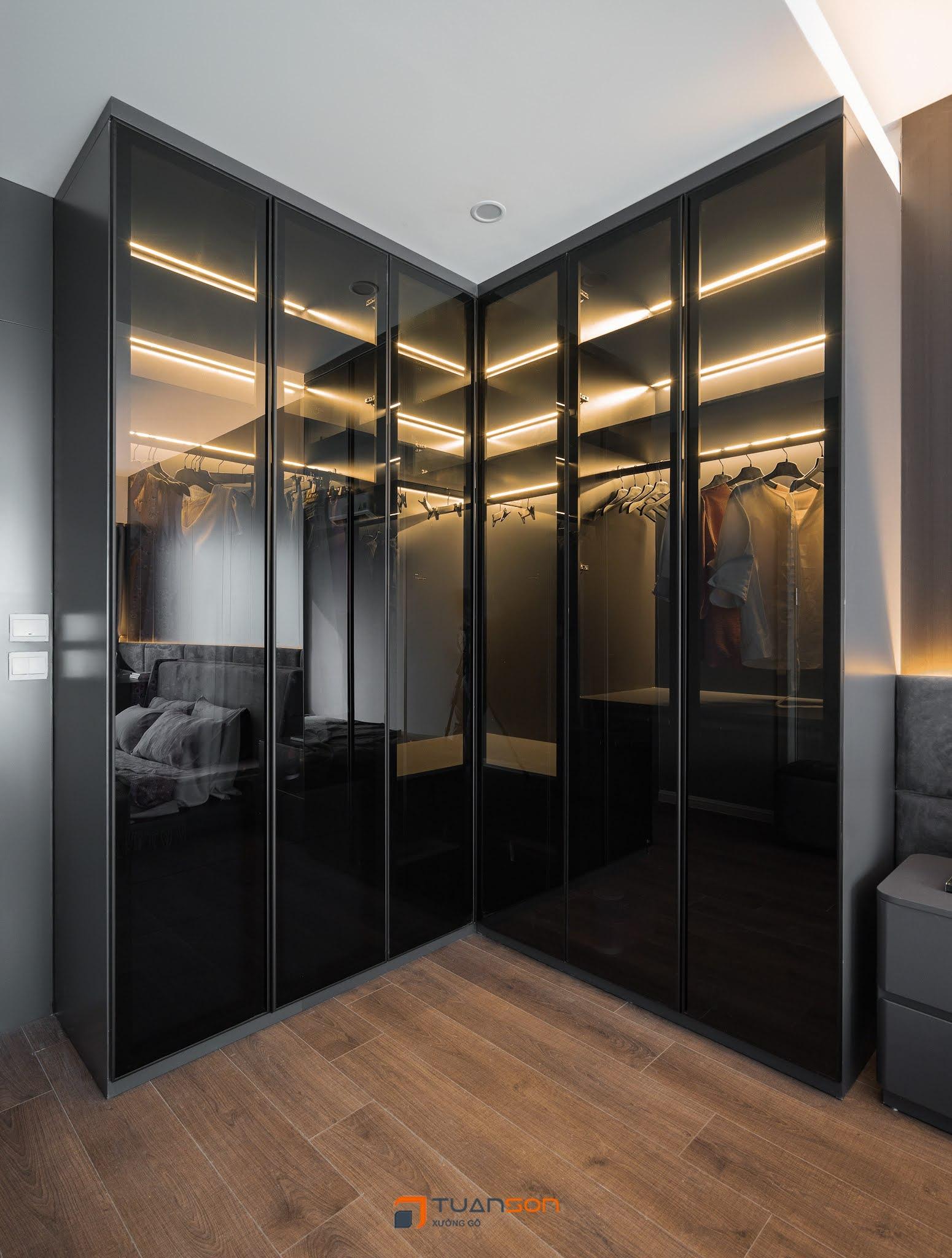 Hình ảnh thực tế nội thất căn 2PN (82m2) Imperia Sky Garden