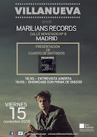 Showcase de Villanueva en Marilians Records