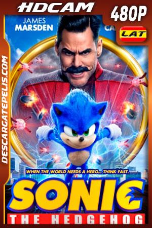 Sonic, la película (2020) 480p HDCam Latino