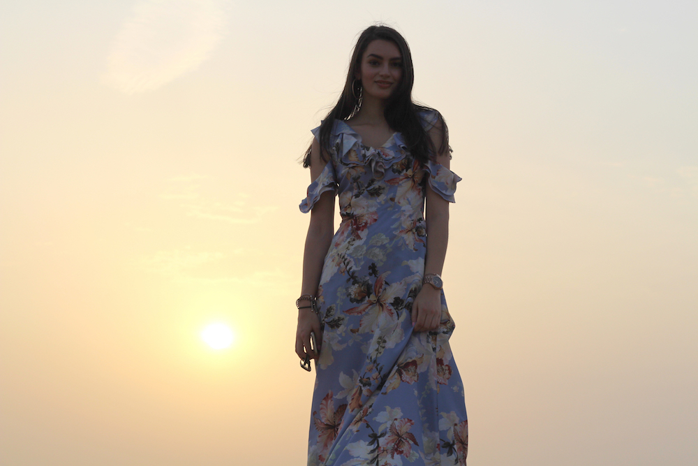 maxi dress dubai florals