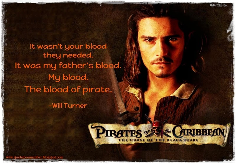 Quote to Remember: PIRATES OF THE CARIBBEAN: THE CURSE OF ...